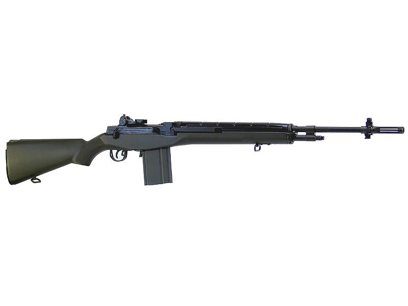 東京マルイ U.S.ライフル M14 ファイバータイプストック(O.Dストック) オートマチック電動エアーガン(電動ガン) No.81 対象年令18才以上(18歳以上)