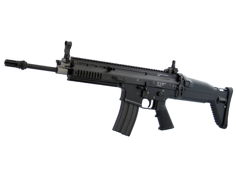 東京マルイ SCAR-L - Mk.16/Mod.0 - ブラック 次世代電動ガン(電動エアーガン・電動エアガン) 対象年令18才以上(18歳以上) <スカーライト・マーク16/モデル0>
