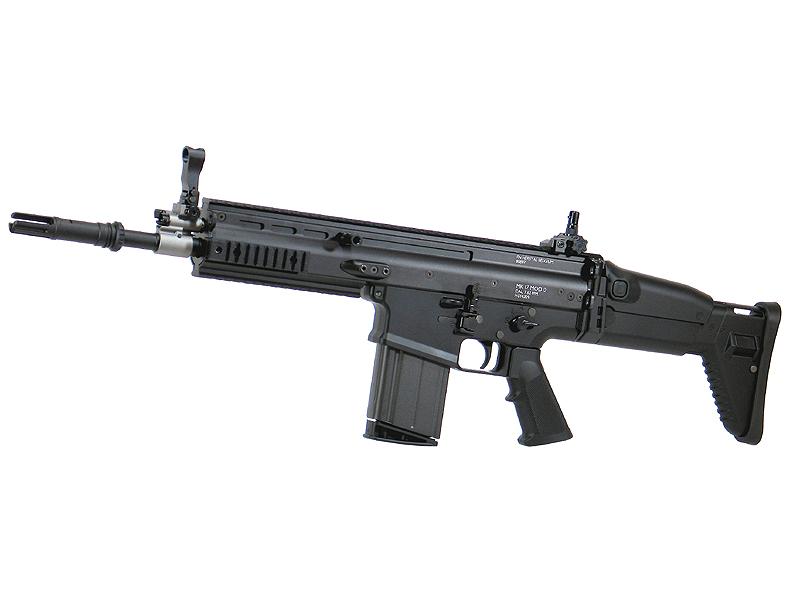 東京マルイ SCAR-H - Mk.17/Mod.0 - ブラック 次世代電動ガン(電動エアーガン・電動エアガン) 対象年令18才以上(18歳以上) <スカーヘビー・マーク17/モデル0>