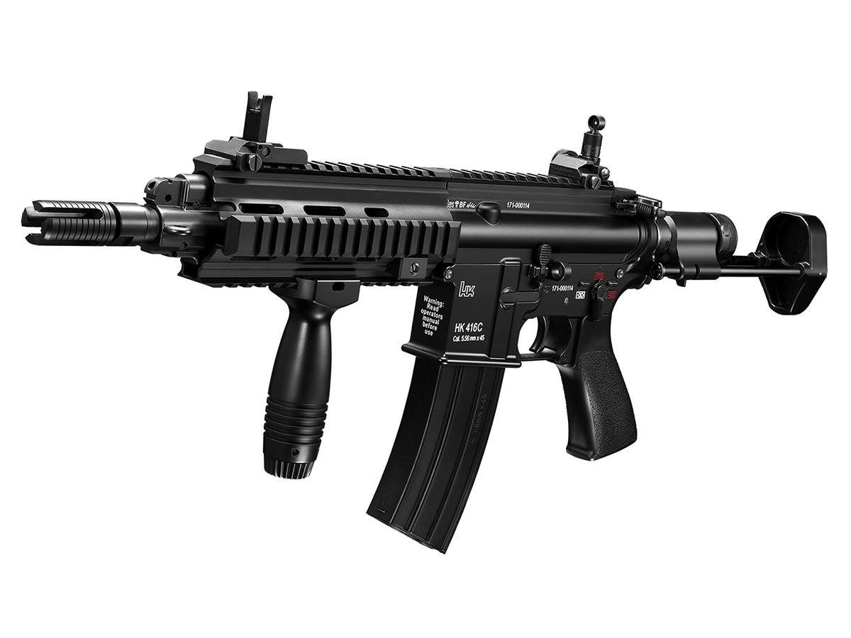 東京マルイ HK416C - コンパクトカービン・カスタム - 次世代電動ガン(電動エアーガン・電動エアガン) 対象年令18才以上(18歳以上)
