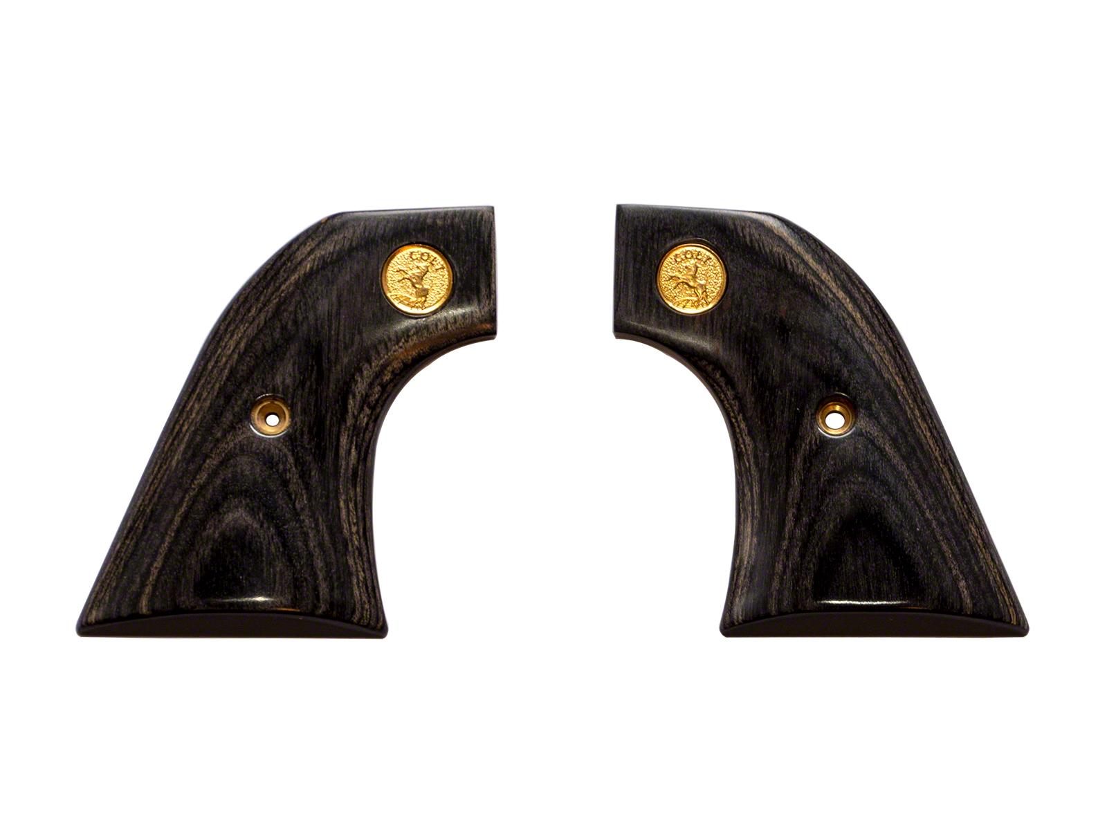 アルタモント コルト SAA45 スムース メダリオン付き 木製グリップ 黒色(ブラック) <Altamont>