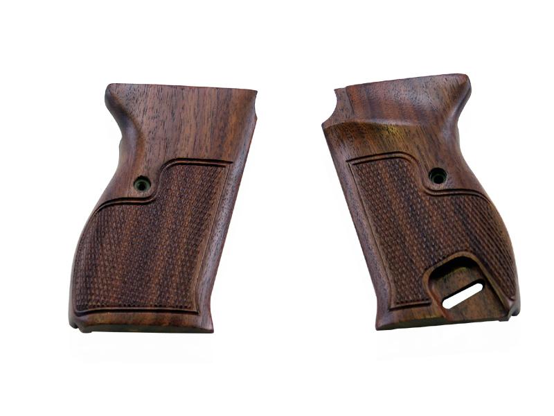 アルタモント <マルゼン製>ワルサーP38用 コマーシャルタイプ 木製グリップ 茶色(ブラウン) <Altamont> 他メーカー製品には対応しておりません。