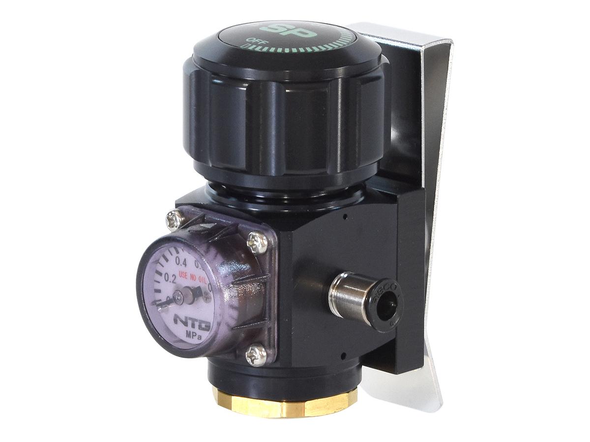 サンプロジェクト グリーンガス専用 可変式レギュレーター(圧力調整器)
