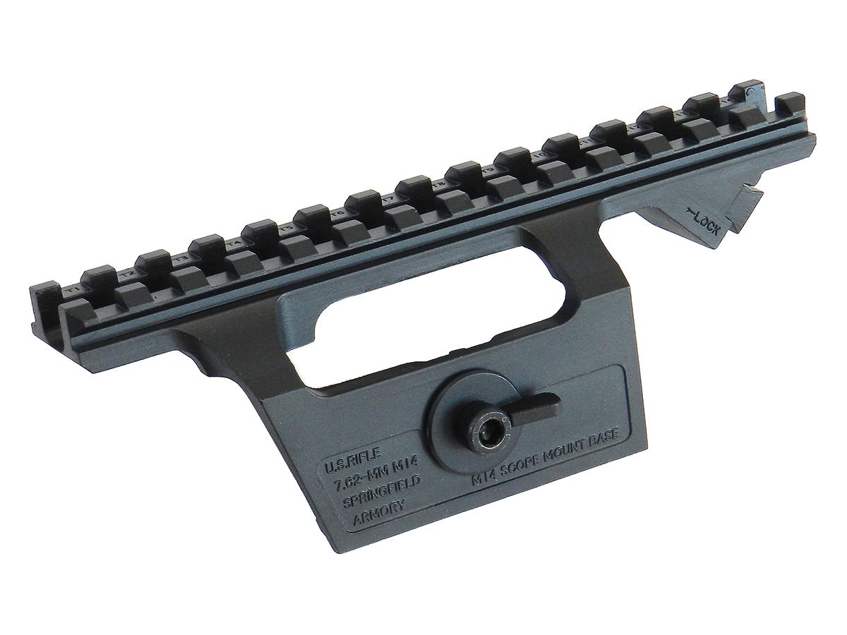 LAYLAX <東京マルイ製>M14ライフル・M14ソーコム専用 マウントベース <ライラクス><ファースト・ファクトリー>< F.FACTORY> ※画像は装着イメージです。