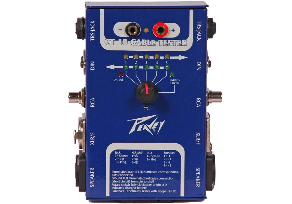 Peavey - ケーブルテスター CT-10 CABLE TESTER 【国内正規品】