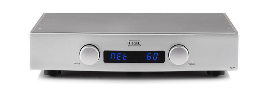HEGEL - HD30/シルバー(USB-DAC内蔵ネットワークプレーヤー)