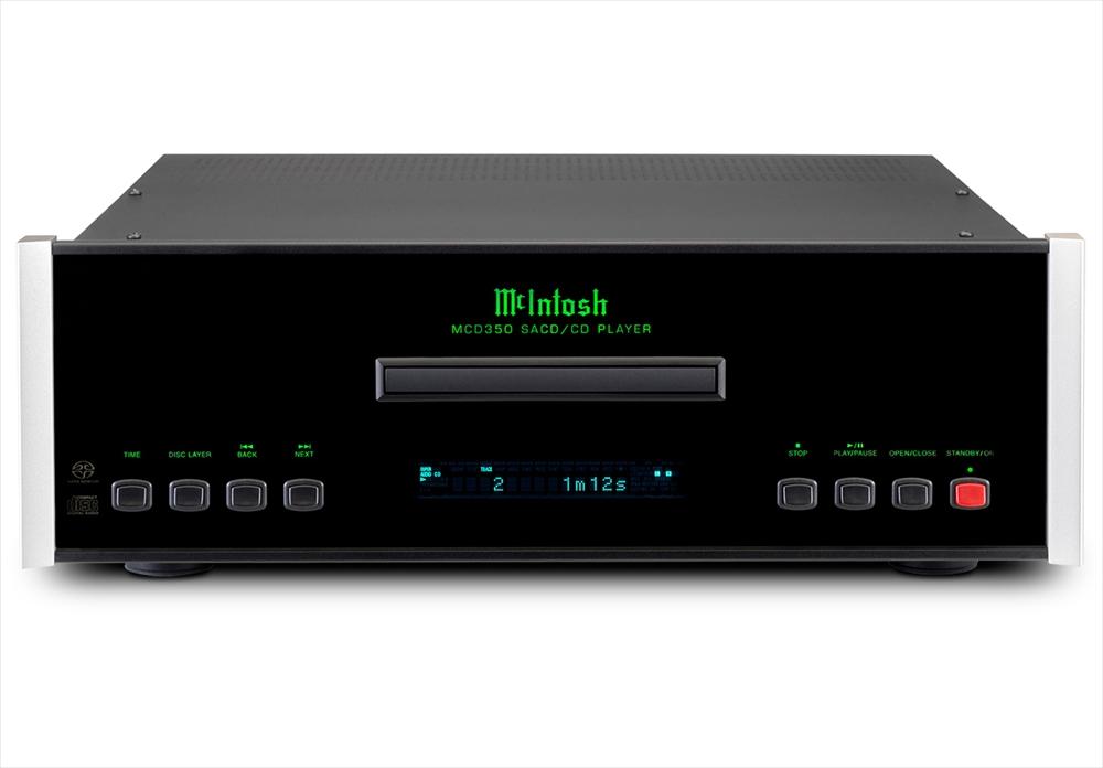 McIntosh - MCD350(SACD/CDプレーヤー)【メーカー在庫を確認後に納期をご連絡します】