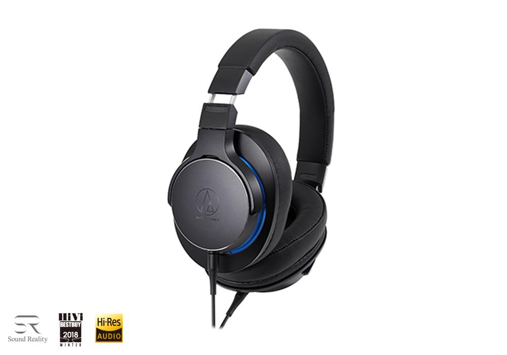 audio-technica - ATH-MSR7b-BK(ブラック)(密閉型ヘッドホン)【店頭受取対応商品】【在庫有り即納】