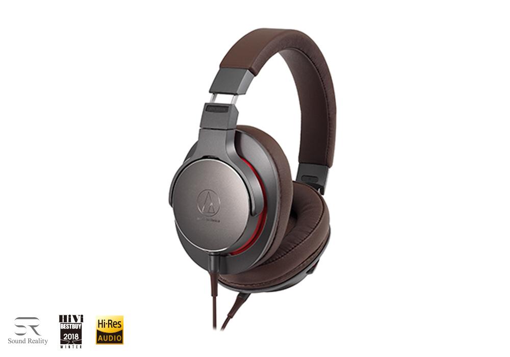 audio-technica - ATH-MSR7b-GM(ガンメタリック)(密閉型ヘッドホン)【店頭受取対応商品】【在庫有り即納】