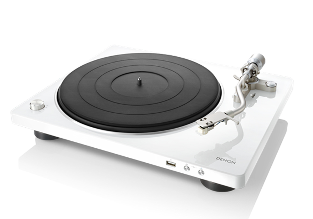 DENON - DP-450USB/ホワイト[DP450USBWTEM](USBメモリー録音対応・ベルトドライブ方式・レコードプレーヤー)【店頭受取対応商品】【在庫有り即納】