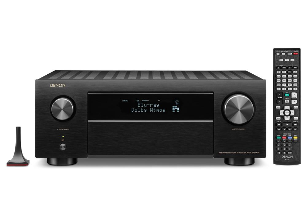 DENON - AVR-X4500H/ブラック(9.2ch AVサラウンドレシーバー)【店頭受取対応商品】【在庫有り即納】