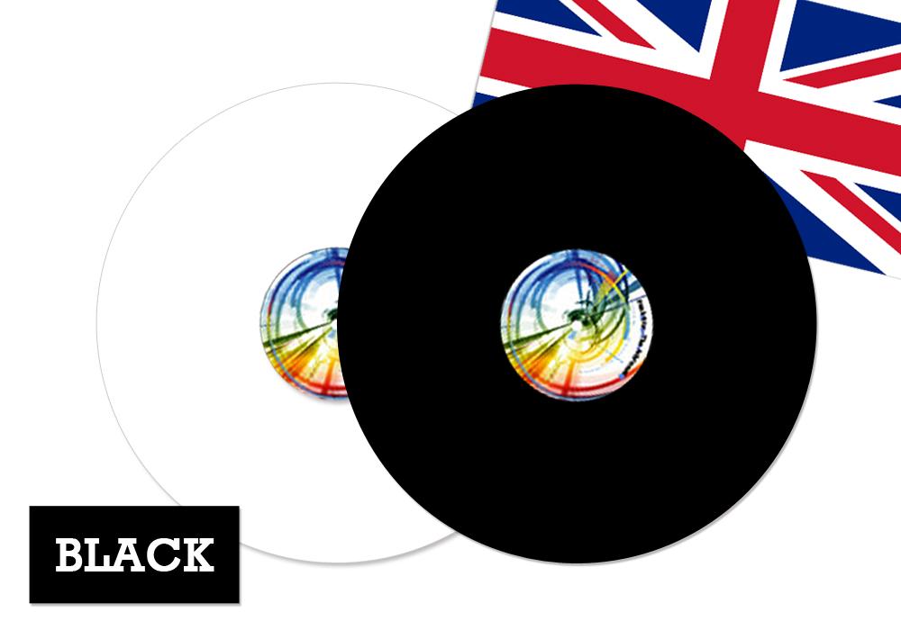 FUNK FIRM - ACHROMAT-BK/3mm(ブラック)(ターンテーブルマット)【店頭受取対応商品】【在庫有り即納】