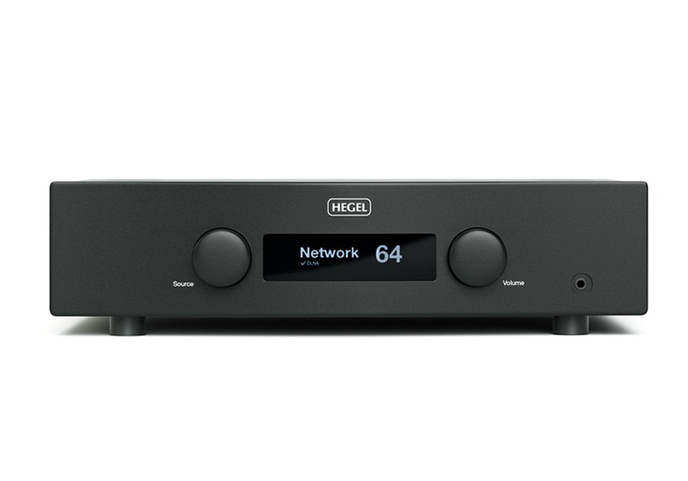 HEGEL - H190/ブラック(ネットワーク・USB/DAC内蔵インテグレーテッドアンプ)【メーカー在庫を確認後に納期をご連絡します】