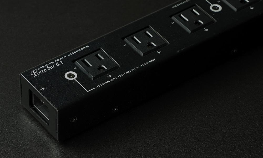KOJO(光城精工) - Force bar 6.1(3Pコンセント6口+2Pコンセント1口付き電源タップ)【店頭受取対応商品】【在庫有り即納】