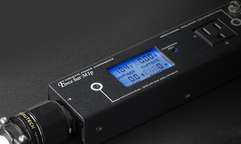 KOJO(光城精工) - Force bar M1P(モニター付き電源タップ)【店頭受取対応商品】【在庫有り即納】