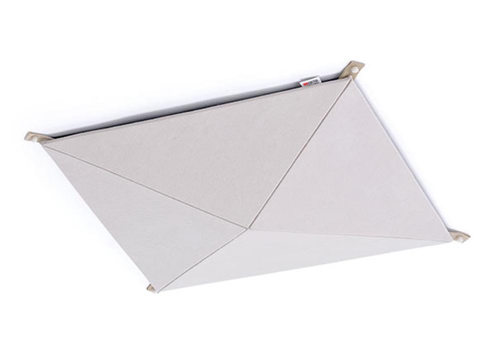 arte(アルテ) - PC-IV・ピラミッドシーリング/アイボリー/1枚(ピラミッド型天井専用音響パネル)【メーカー在庫を確認後に納期をご連絡します】