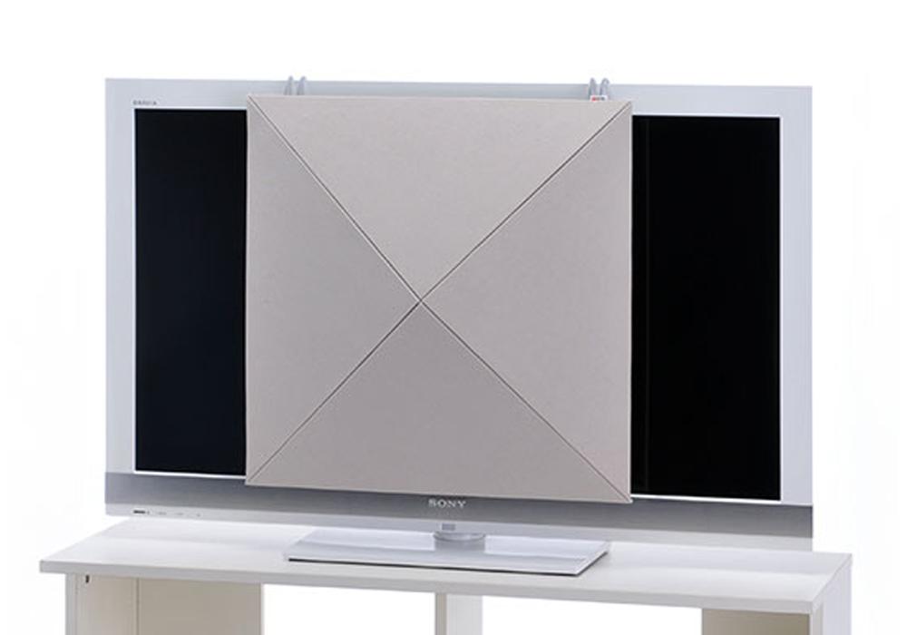 arte(アルテ) - PTV-IV・ピラミッドTVカバー/アイボリー/1枚(音響パネル)【メーカー在庫を確認後に納期をご連絡します】