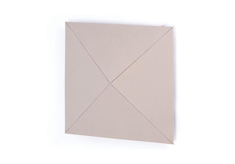 arte(アルテ) - PW-BE・ピラミッドウォール/ベージュ/1枚(ピラミッド型壁掛け音響パネル)【メーカー在庫を確認後に納期をご連絡します】