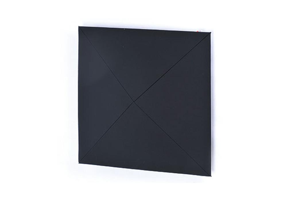 arte(アルテ) - PW-BK・ピラミッドウォール/ブラック/1枚(ピラミッド型壁掛け音響パネル)【メーカー在庫を確認後に納期をご連絡します】