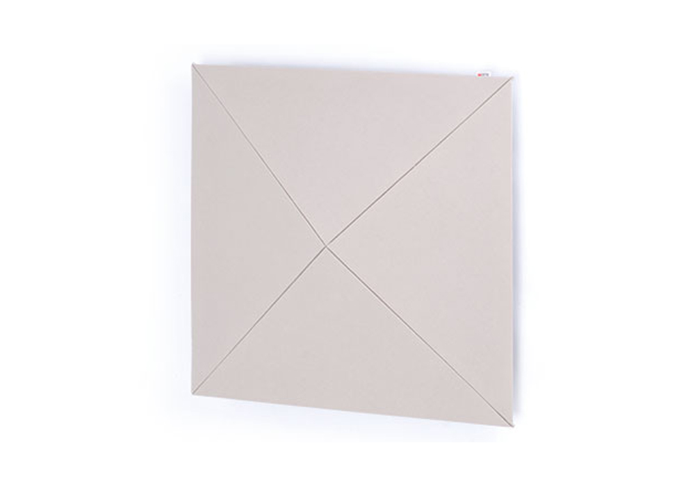 arte(アルテ) - PW-IV・ピラミッドウォール/アイボリー/1枚(ピラミッド型壁掛け音響パネル)【メーカー取寄商品・納期を確認後、ご連絡いたします】