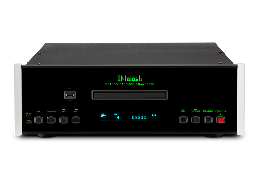 McIntosh - MCT500(SACD/CDトランスポート)【メーカー在庫を確認後に納期をご連絡します】