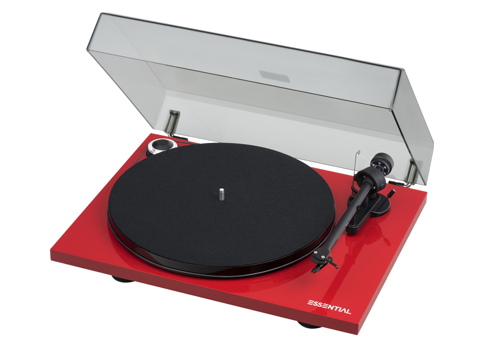 Pro-Ject - ESSENTIAL-3R/レッド(レコードプレーヤー)【店頭受取対応商品】