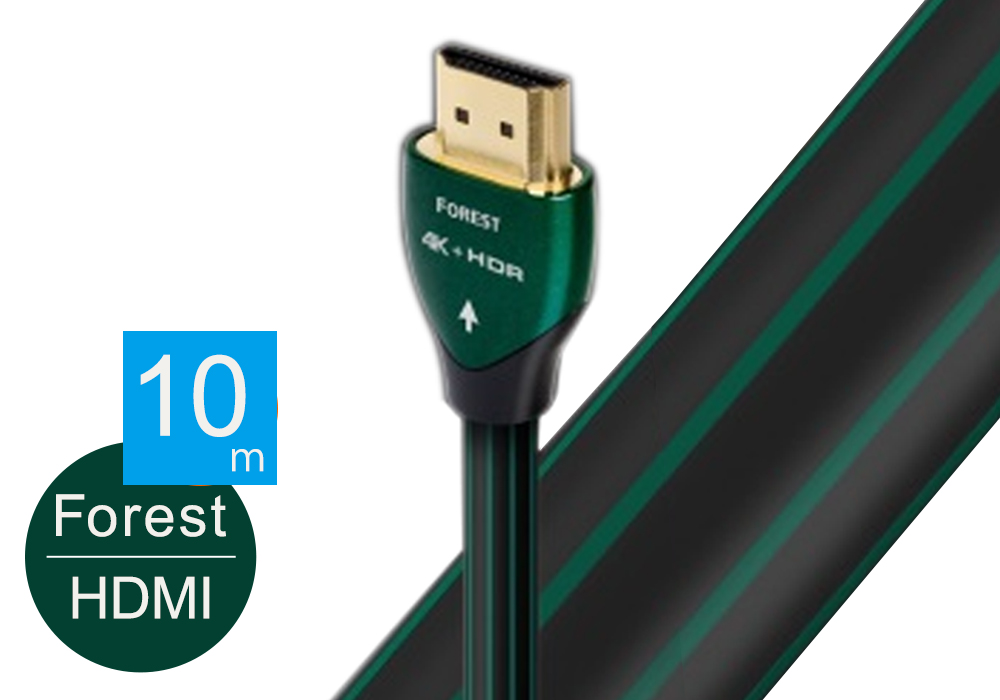 audioquest - HDMI2 FOREST/10.0m《HDMI2/FOR/10MA》(4K・HDR対応・Active HDMIケーブル)【店頭受取対応商品】【在庫有り即納】