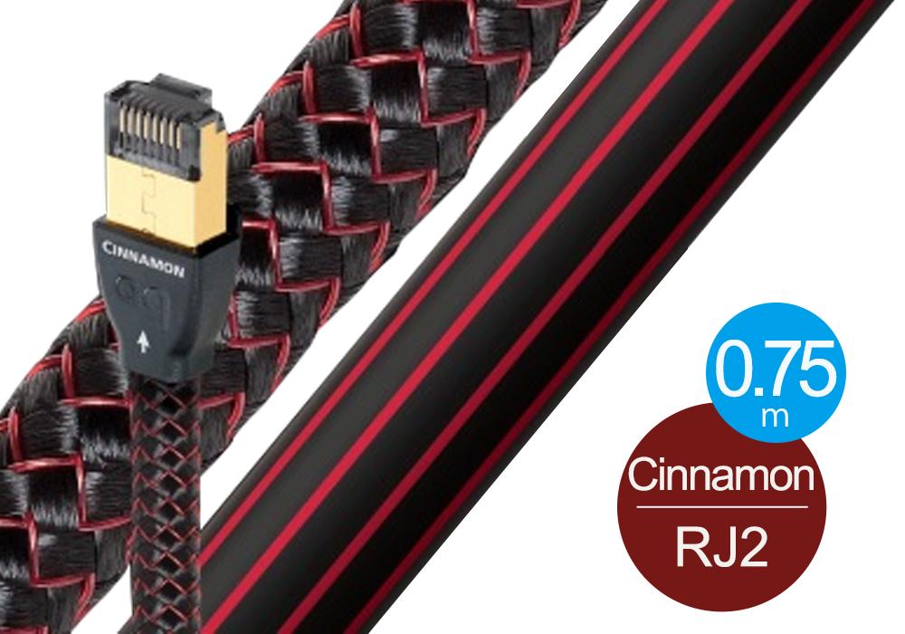 audioquest - RJ2 CINNAMON/0.75m《RJ2/CIN/0.75M》【店頭受取対応商品】【在庫有り即納】