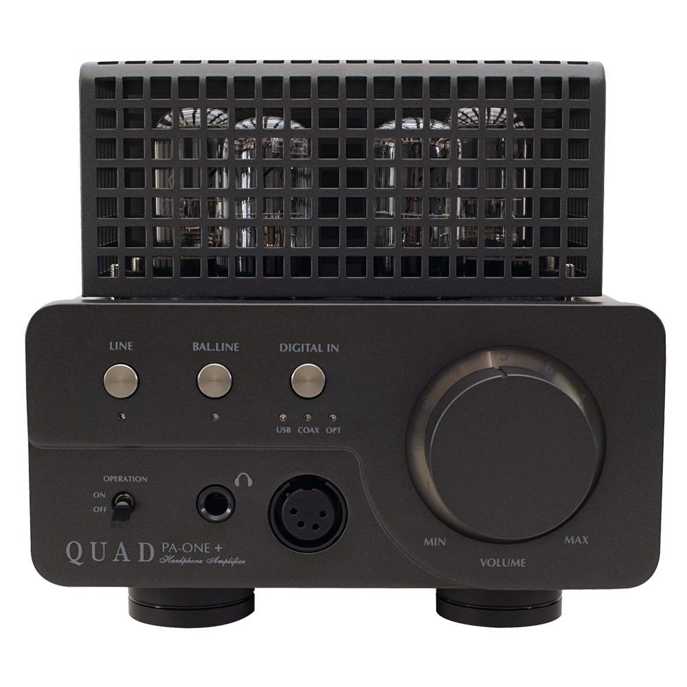 QUAD - PA-ONE+(プラス)(USB/DAC搭載・真空管ヘッドホンアンプ)【8/18~出荷・メーカー在庫有り即納】
