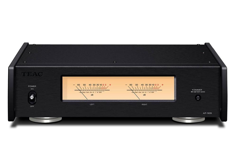TEAC - AP-505/ブラック(パワーアンプ)【店頭受取対応商品】【6月上旬発売予定・ご予約受付中】