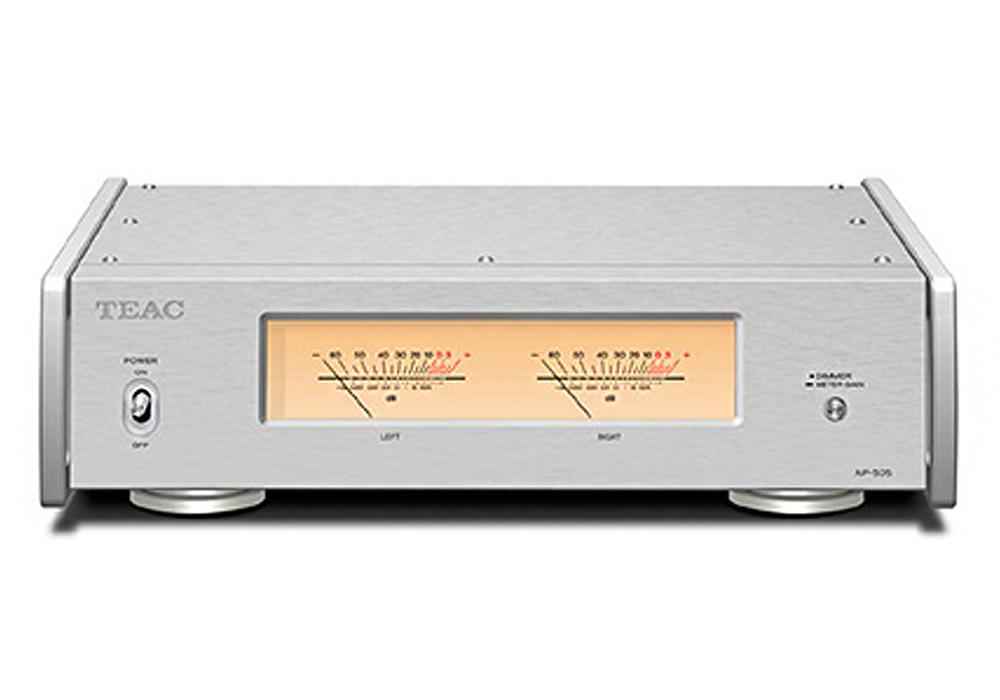 TEAC - AP-505/シルバー(パワーアンプ)【店頭受取対応商品】【6月上旬発売予定・ご予約受付中】