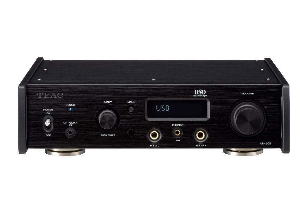 TEAC - UD-505-B/ブラック(USB-DAC内蔵ヘッドホンアンプ)【在庫有り即納】