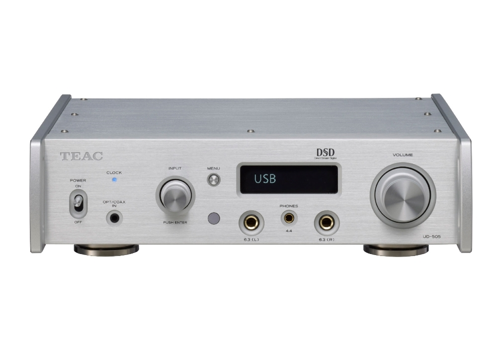 TEAC - UD-505-S/シルバー(USB-DAC内蔵ヘッドホンアンプ)【次回11月28日入荷予定・ご予約受付中】
