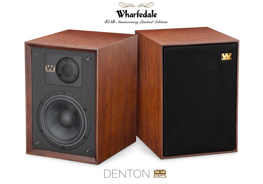 Wharfedale - Denton85/マホガニーレッド(ペア)[Denton 85th Anniversary Limited Edition]【店頭受取対応商品】【在庫有り即納】