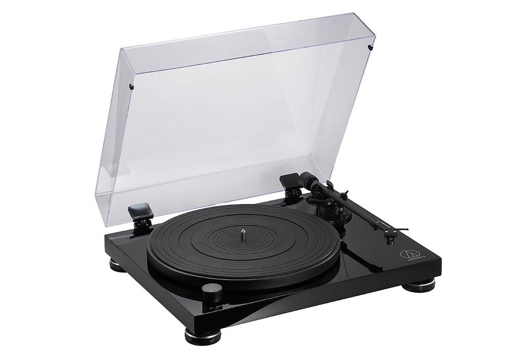 audio-technica - AT-LPW50PB(ベルトドライブ・ターンテーブル)【店頭受取対応商品】【在庫有り即納】