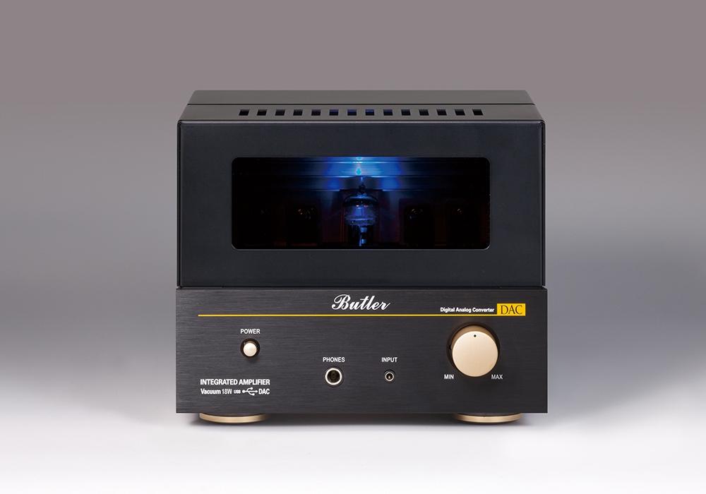【キャッシュレス還元】【メーカー直送品(送料無料・代引不可)】  Butler - Vacuum 18W DAC(USB/DAC搭載・真空管プリメインアンプ)【店頭受取対応商品】