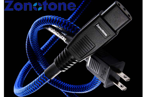 【送料無料】Zonotoneゾノトーン6N2P-3.5 Blue Power電源ケーブル1.5m