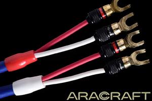 【即納可能】ARACRAFTTRC 200 SPAスピーカーケーブル2.0m ペア