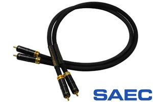 【オーディオアクセサリー銘機賞 グランプリ】【販売価格はお問合せください】SAECSTRATOSPHERE SL-1インターコネクトケーブル1.2m