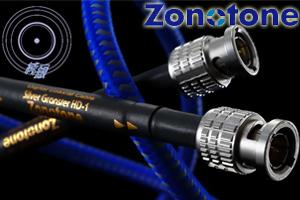 【オーディオアクセサリー銘機賞】ZonotoneSilver Granster HD-1 BNC1.0mデジタルクロックケーブル※受注生産になります