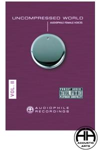 【送料無料!!クリックポストでの発送となります】【高音質CD】UNCOMPRESSED WORLD VOL.2AUDIOPHILE RECORDINGS