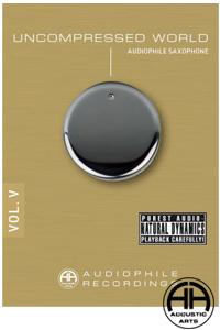 【送料無料!!クリックポストでの発送となります】【高音質CD】UNCOMPRESSED WORLD VOL.5AUDIOPHILE RECORDINGS