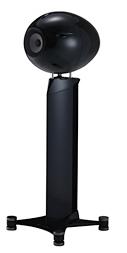【展示処分品 ブラック】Eclipse TD712zMK2富士通TEN イクリプス(レギュラースタンド)(ペア)