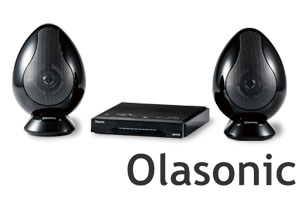 【送料無料】OlasonicTW-D9HDMテレビ用高音質スピーカー