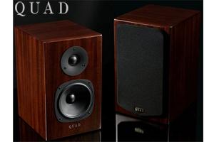 【送料無料】QUAD11L Classic Signature2ウェイブックシェルフバスレフ型ピアノ仕上げ(ペア)