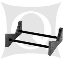 【価格はお問合せください】QUADRASPIRE CS250B ブラックセンタースピーカースタンド