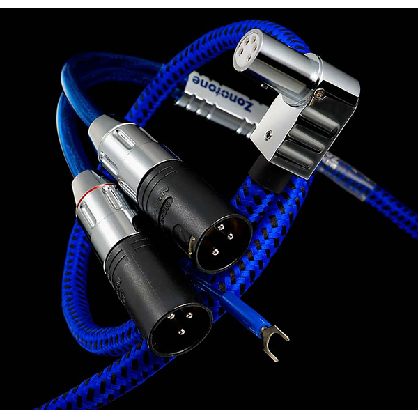 Zonotone 8NTW-8080Prestage/LXLR (L-neck 5 Pin connector-XLR-1.2 m) tone / phono cables balanced transmission for model sonotone 8NTW8080PRESTAGE