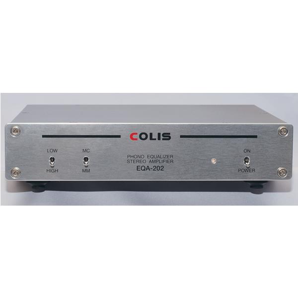 JR SOUND EQA-202 COLIS フォノイコライザーアンプ(MM/MC) EQA202
