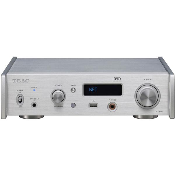即納 TEAC 価格 NT-505X-S シルバー USB DAC ネットワークプレーヤー 予約販売 ティアック NT505X