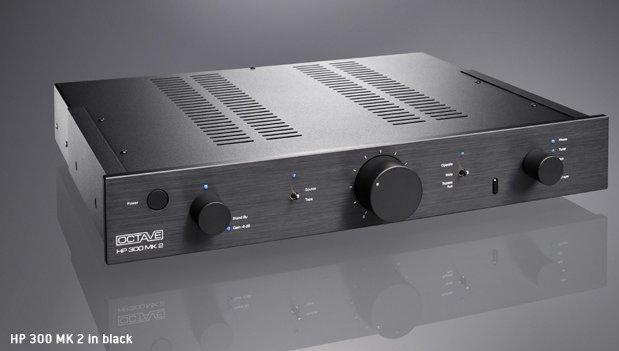 OCTAVE オクターブ プリアンプ HP 300 MK2 フォノモデル ブラック